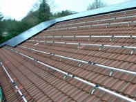 Panels on roof bars